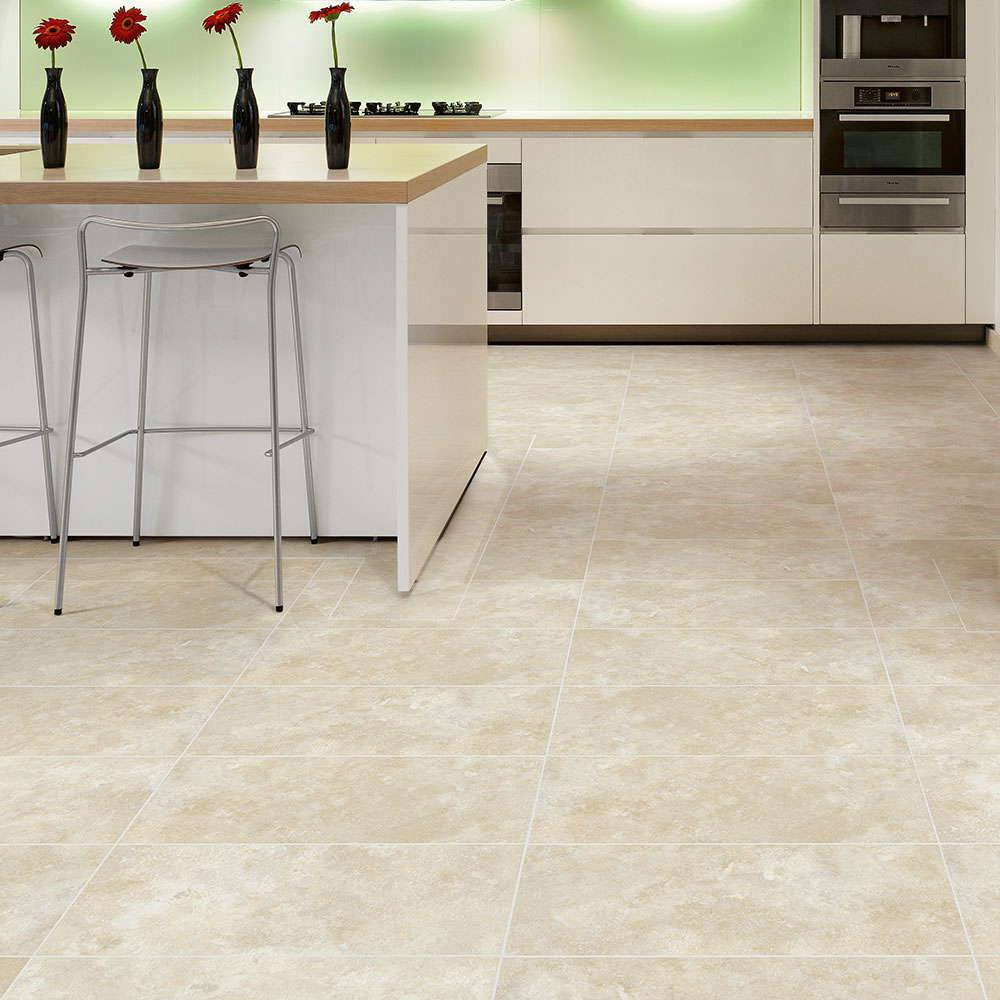 Luxury vinyl tiles flooring