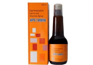 women use apetamin vitamin syrup
